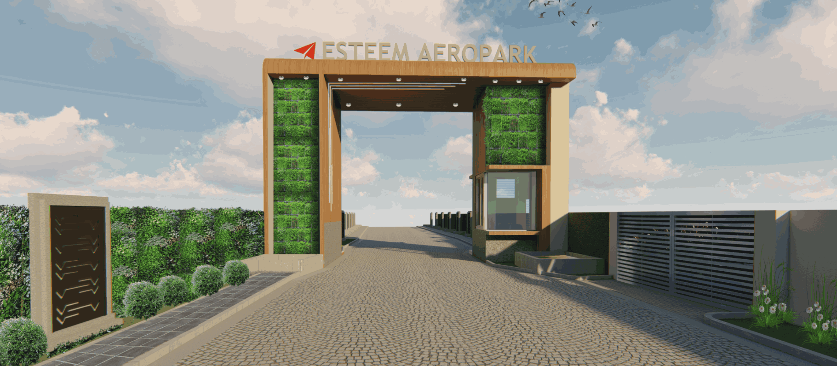 Esteem Aeropark – 1km from airport